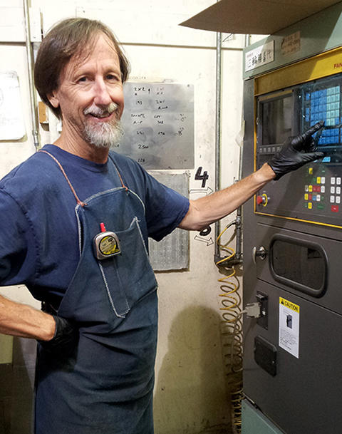 Cliff Johnson Punch Press Operator