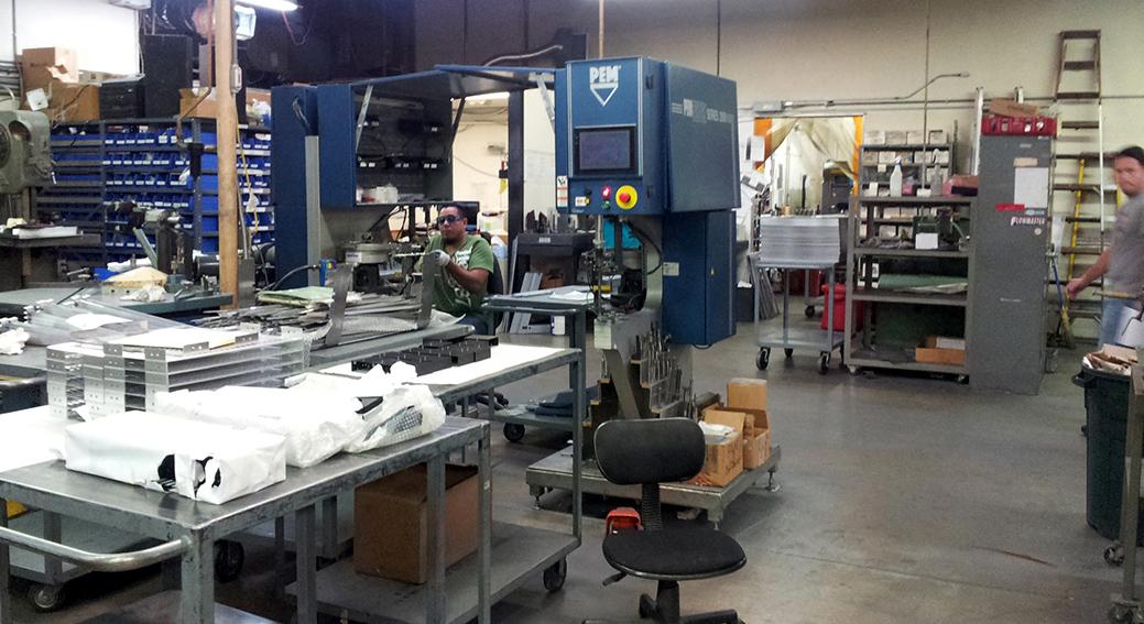 Metal fabricators Pasadena